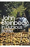Front cover for the book In Dubious Battle by John Steinbeck