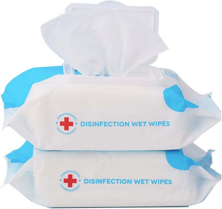 KOOMTOOM Disposable Alcohol Wipes,75% Alcohol Cleaning Wet Wipes ...