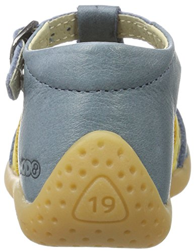 Mod8 Cartrois - Botas de senderismo Bebé-Niños Blau (BLEU JEAN)