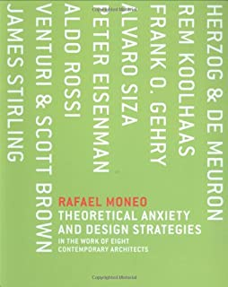 theoretical anxiety and design strategies in the work of eight architects mit press