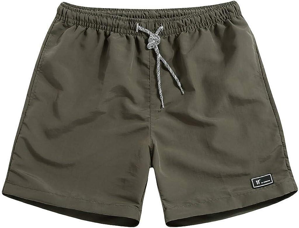 LGHOVRS Running Short Pantalones Cortos Deportivos para Hombre ...