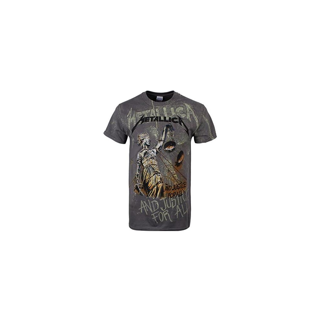 Metallica Camiseta Justice Neon