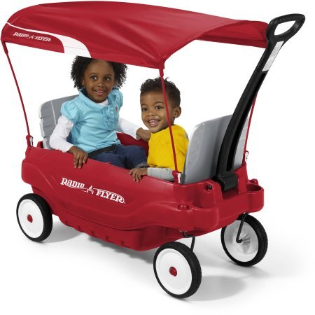 Radio Flyer Deluxe Family Canopy Wagon 8.5