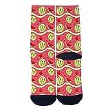 Fruits Watermelon FunnyTube Socks Skateboard Sports Socks Street Fashion Socks Hip Hop Street Sport Socks Black