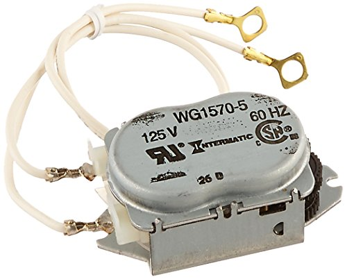 Intermatic WG1570-10D 125V 60-Hertz  Replacement Time Clock Motor for T100, T170, T100R201, T1400, T100-20 and WH Series ()