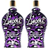 LOT of 2 Snooki Ultra Dark 70x Black Bronzer Skin Firming Tanning Lotion Supre by Millennium Tanning Products