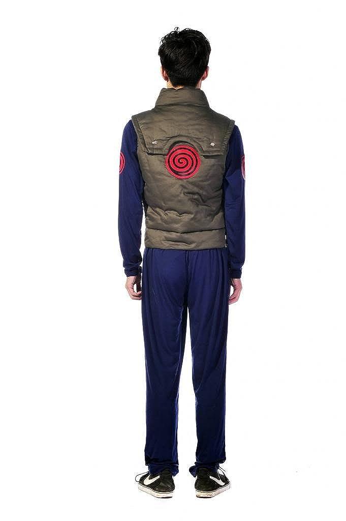 Amazon.com: Mtxc Mens Naruto Cosplay Konoha Village Jonin ...
