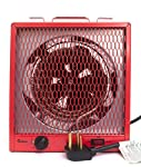 Dr. Infrared Heater DR-988 Garage Shop 208/240V, 4800/5600W Heater with 6-30R Plug (Renewed)