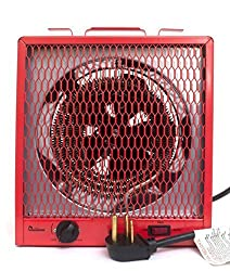 Dr. Infrared Heater DR-988 Garage Shop 208/240V, 4800/5600W Heater with 6-30R Plug (Renewed)