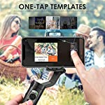 3-Axis Gimbal Stabilizer for Smartphone - 0.5lbs Lightweight Foldable Phone Gimbal for iPhone 11 Pro Max X XS, Auto Inception Dolly Zoom, Pocket Gimbal for Video Vlog Youtuber Hohem iSteady X (Black) 6