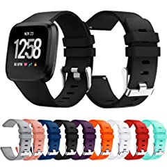 Features: 👉Various colors for your choice, feel free to choose all the colors you like to dress up your watch. Just like a fashion show. 👉Personalize your wristband to match your daily style with this band cover new color choices. 👉Adjustable...