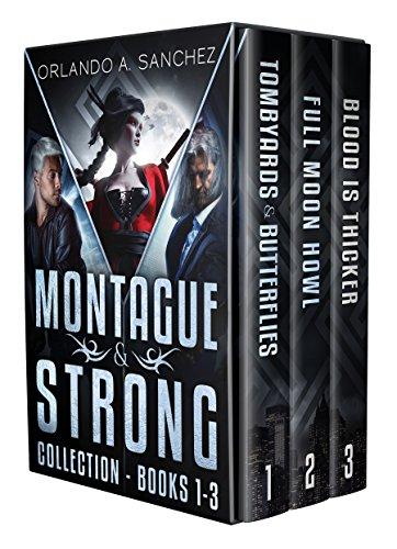 Montague & Strong Detective Novels Box