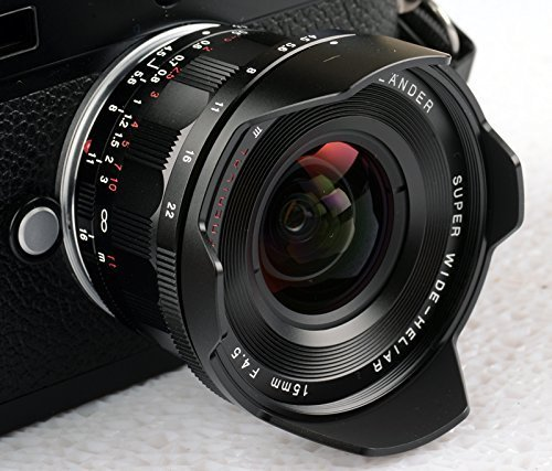 Voigtlander Super Wide Heliar 15mm f/4.5 M Mount Lens - Blac