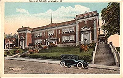 Normal School Louisville, Kentucky Original Vintage Postcard