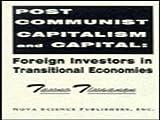 Post-Communist Capitalism and Capital 9781560723011