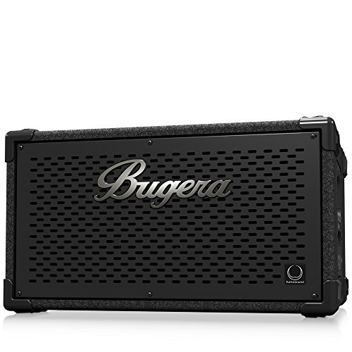 - BUGERA BT210TS Ultra-Compact and Lightweight 1,000-Watt Bass Cabinet with 2 X 10'' Turbosound Speakers Black