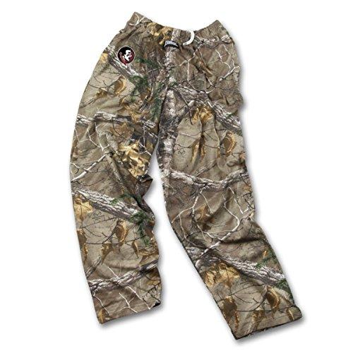 Zubaz NCAA Florida State Seminoles Men's Realtree Xtra Print Team Logo Casual Active Pants, X-Large, Camo ()