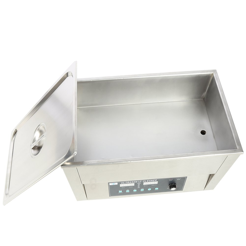 Digital Cleaning Machine, 3L/10L/14L/15L/19L/22L Stainless Steel Industrial Cleaner Tank Watch Glasses Jewelry Cleaning Machine (22L)