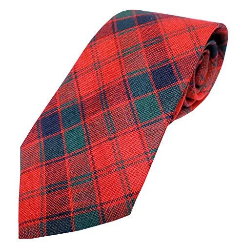 - Ingles Buchan Mens Scottish Wool Tartan Tie Robertson