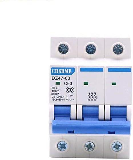 32A OIASD Commutateur pneumatique triphas/é DZ47 /électrique 3P Ouvert Petit disjoncteur 380V