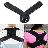 Zinnor Posture Corrector Comfort Wearable Shoulder Back Support Brace Neck Pain Relief
