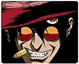 hellsing alucard vampire sleeve glasses hat Custom Personalized Gaming Mouse Pad Rubber Durable Computer Desk Stationery Accessories Mouse Pads For Gift