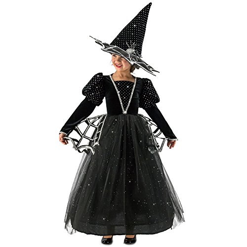 Girls Glitter Witch Costumes (Girls Diamond Witch Glitter Costume size Small 6)