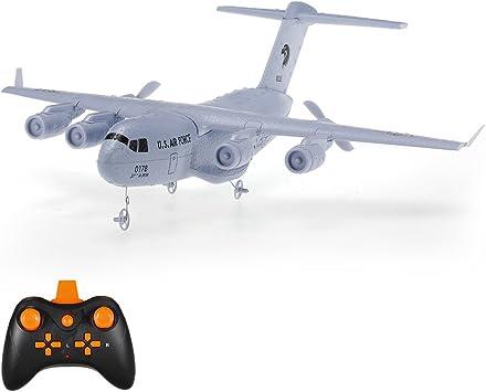 Opinión sobre Goolsky C-17 2.4GHz 2CH 373mm Envergadura Aviones de Transporte de Aviones RC EPP con Giro RTF