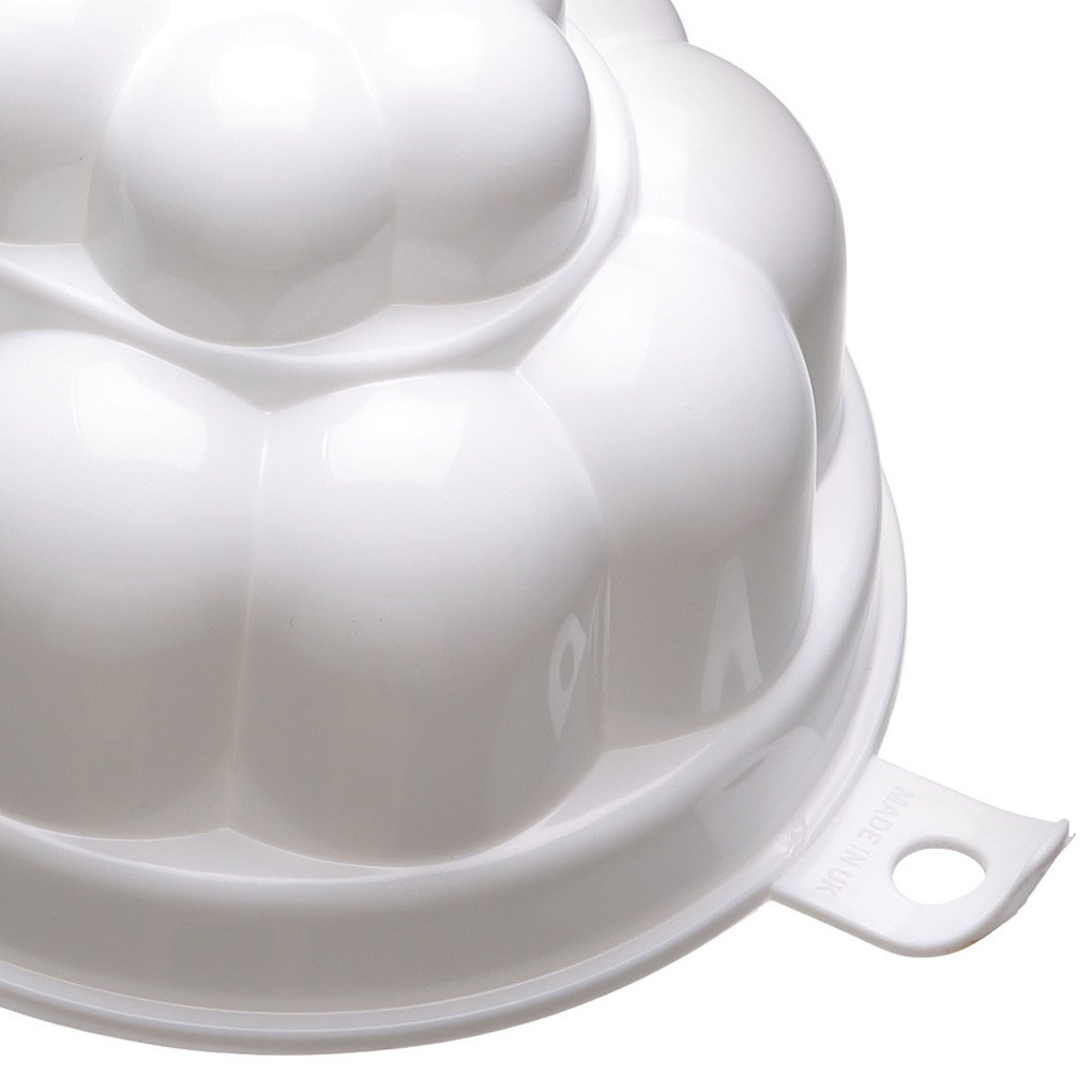 Amazon.com : Kitchen Craft White Plastic 500ml Jelly Mould : Baking Molds : Garden & Outdoor