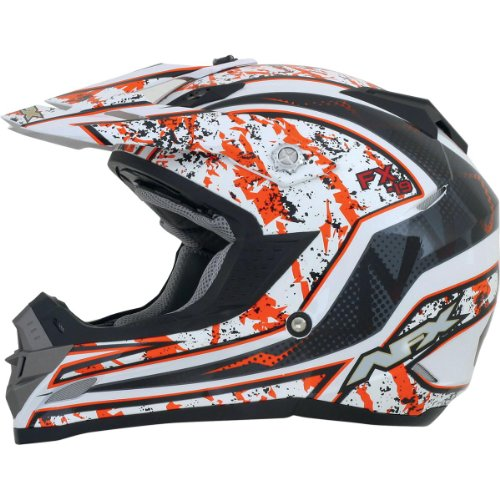 AFX FX-19 Vibe Helmet Orange XXL/XX-Large