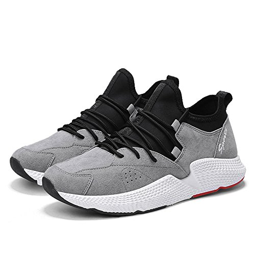Tide Casual Basketball Gray Shoes Shoes Outdoor Climbing CJZHE Mix Men's Comfortable Sports and Match wqFnYAgU