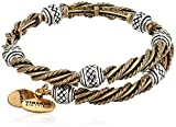 Alex and Ani Relic Two Tone Wrap Bracelet