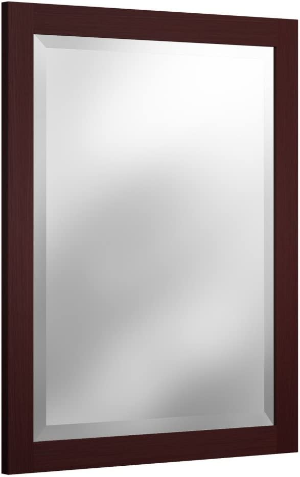 Alaterre Furniture Logan Vanity-Mirrors, Espresso