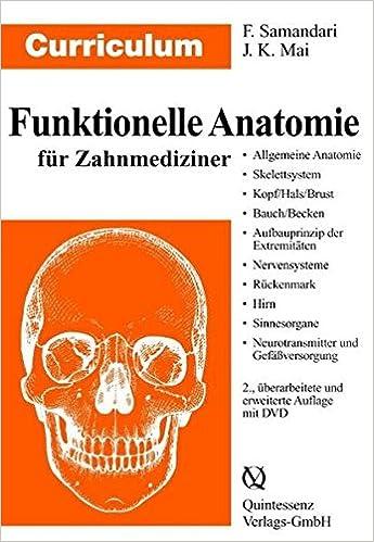 Curriculum Funktionelle Anatomie für Zahnmediziner Curriculum ...