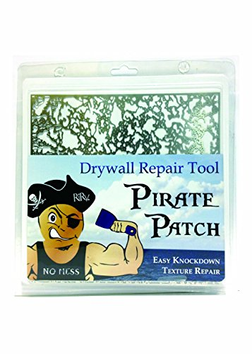 Pirate Patch Knockdown Texture Drywall Repair Tool on Amazon  Professional Grade DIY
