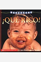 Baby Faces: Eat! (que Rico> (Scholastic En Espanol-Spanish) Board book