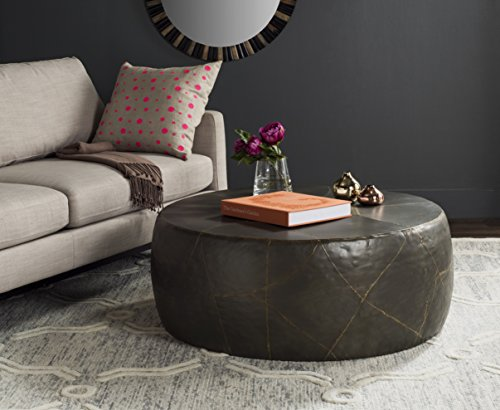 Safavieh Home Collection Vernice Silver Coffee Table