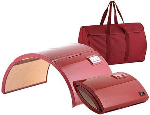 HUKOER Infrarouge Lointain Sauna Dome Home Room Portable Pliable Design brevet/é Home Salon Utilisation Sac De Transport Faible Consommation De Puissance Basse EMF Lasse Full Body Detox