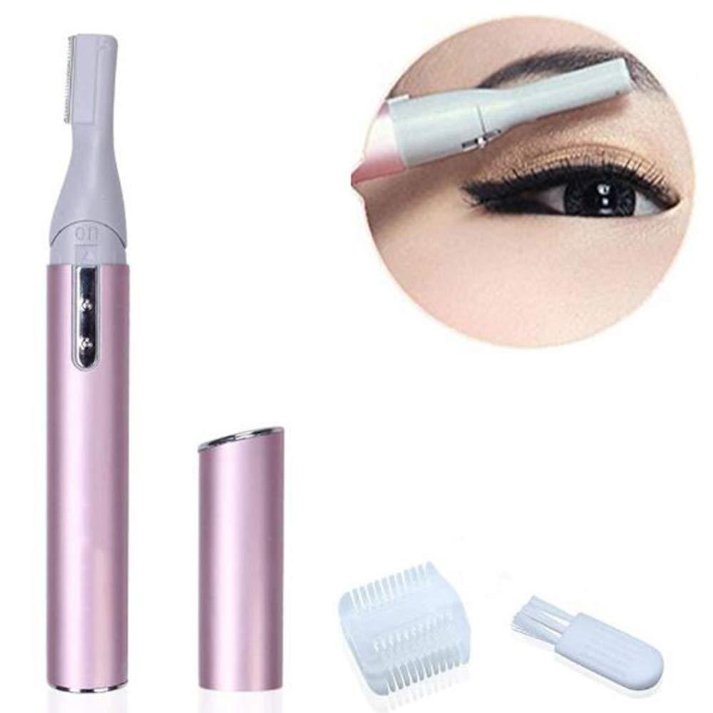 HJOY Afeitadora Eléctrica Razor para Hombres Removedor De Vello Facial Portátil De Lady Trimmer De Cejas Afeitadora Eléctrica Cortar El Vello Corporal