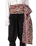 ThePirateDressing Pirate Medieval Renaissance Halloween Cosplay Costume Brocade Large Sash (Brocade# 121, Lined)