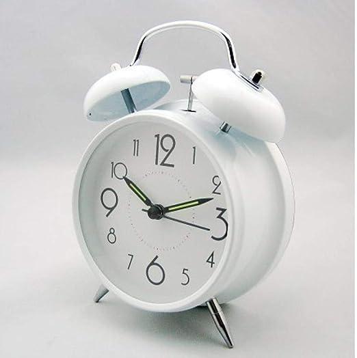 JYYA Despertador Luminoso Mini círculo diseño Simple Anillo de ...