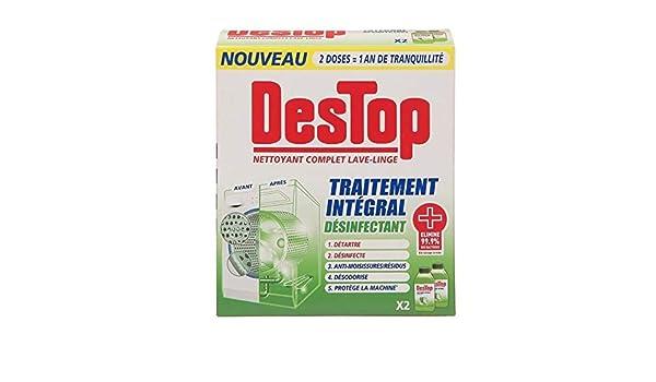 Limpiador completo desinfectante para lavadora Destop: Amazon.es ...