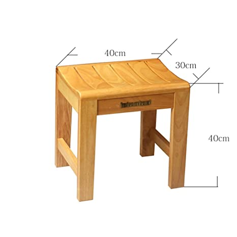 Awesome Amazon Com Wisdom Bathroom Wooden Stool Old Man Bathing Ocoug Best Dining Table And Chair Ideas Images Ocougorg