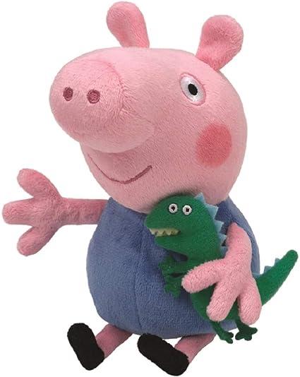 Ty Uk George Peppa Pig Beanie 6 Amazon Co Uk Toys Games