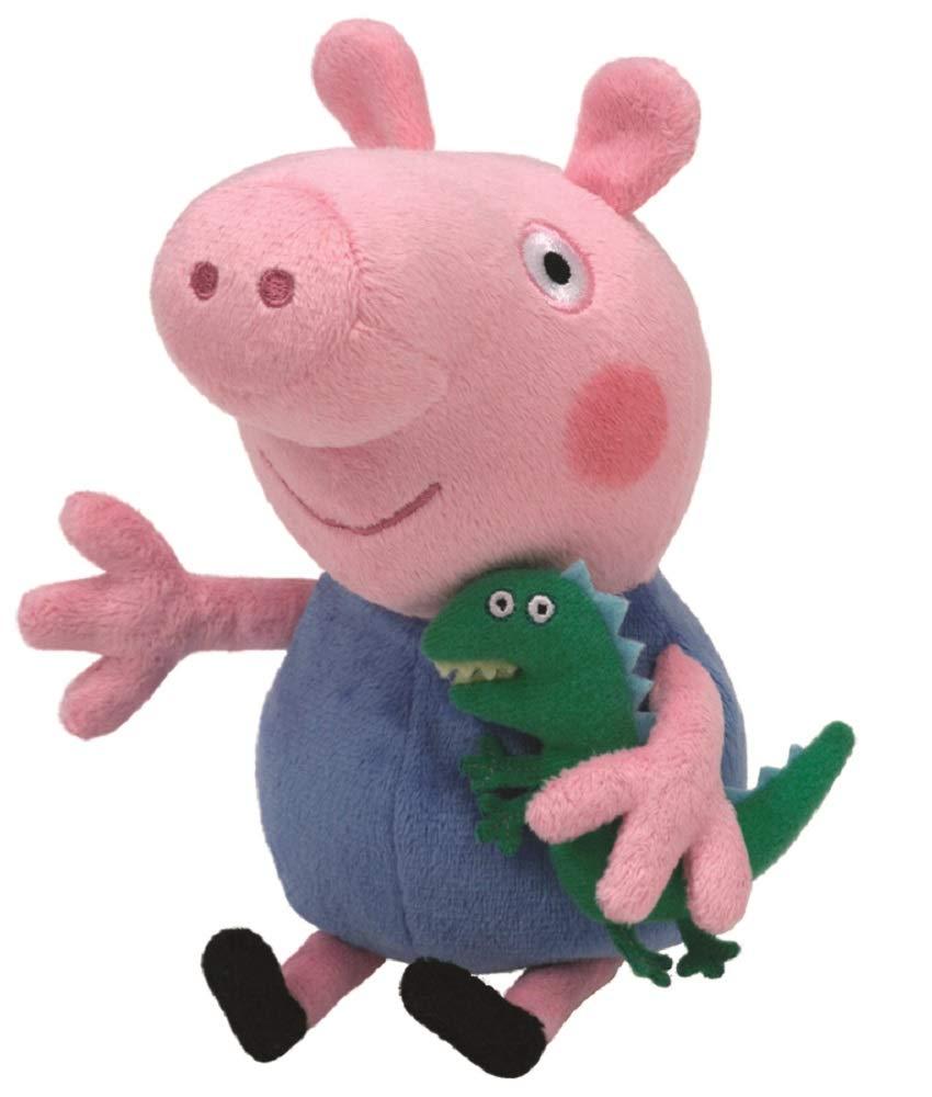 Ty Peppa Pig - Peluche de George con dinosaurio 46130 B001ENV4JS