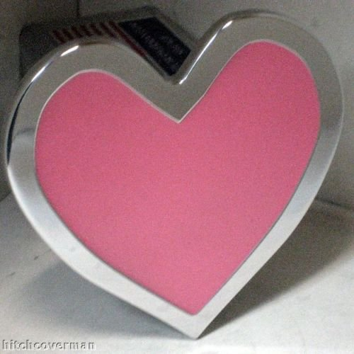 Pink Hart Hitch Cover