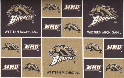 Western Michigan University By Sykel - 100% Cotton, 44