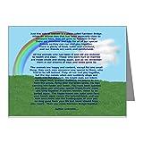 CafePress - Rainbowbridge2.Jpg - Blank Note Cards (Pack of 20) Matte