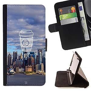 Dragon Case - FOR Sony Xperia Z2 D6502 - strong for too long - Caja de la carpeta del caso en folio de cuero del tirš®n de la cubierta protectora Shell