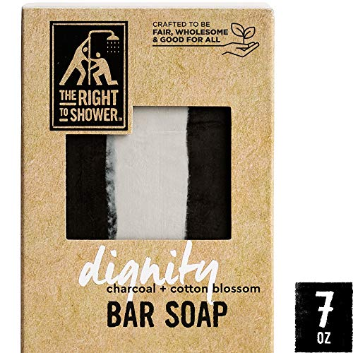 The Right To Shower Bar Soap, Dignity, 7 Ounce